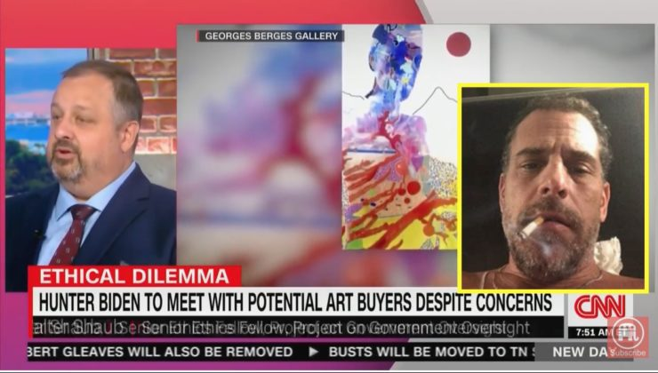 """Former Obama Ethics Chief On Hunter Biden's """"Art"""" Scheme: """"Can you find anyone other than the president's son, who showed up on the scene selling art for the price of a house and a half?"""" [VIDEO]"""