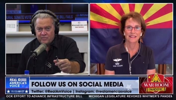 """Arizona State Senator Wendy Rogers: """"DECERTIFY NOW – RECALL THE ELECTORS"""" – AG Brnovich NEEDS To Indict Supervisors"""