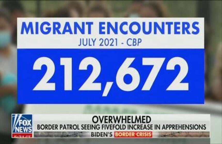 Nets Hype Britney Spears, Ignore Border Crisis Worsening in July