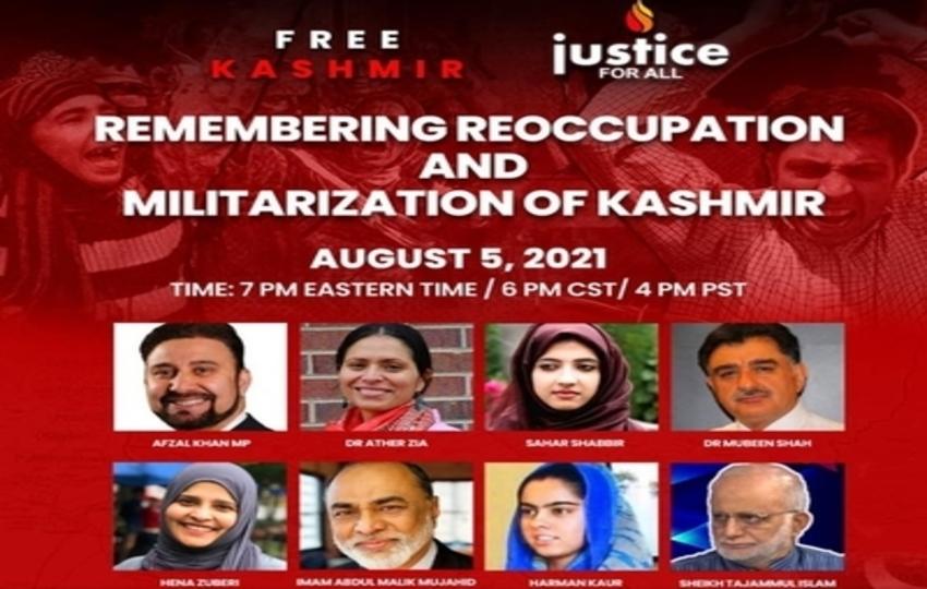 "Speakers Compare India to ""Nazi Regime"" at Kashmir Webinar"