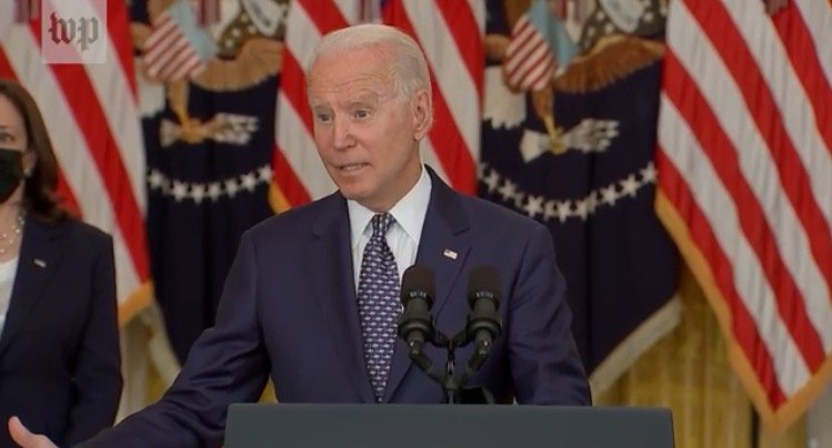"""Biden Says He is """"Checking"""" to See if He Has Power to Overrule Governors and Order Universal Masking in Schools (VIDEO)"""