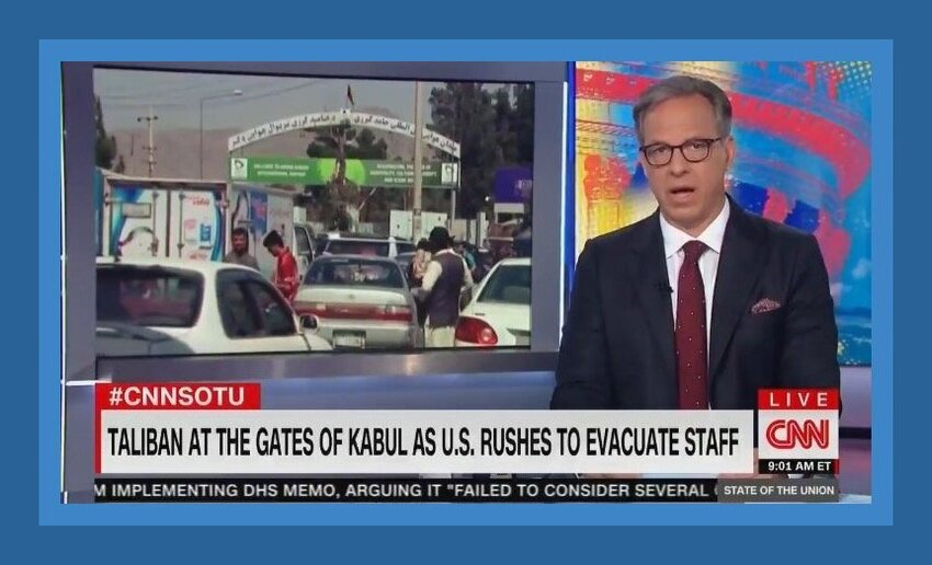 """'How Did Biden Get This So Wrong?' – Jake Tapper Confronts Secretary Blinken on Biden's Afghanistan Blunder: """"Tragic Foreign Policy Disaster"""" (VIDEO)"""