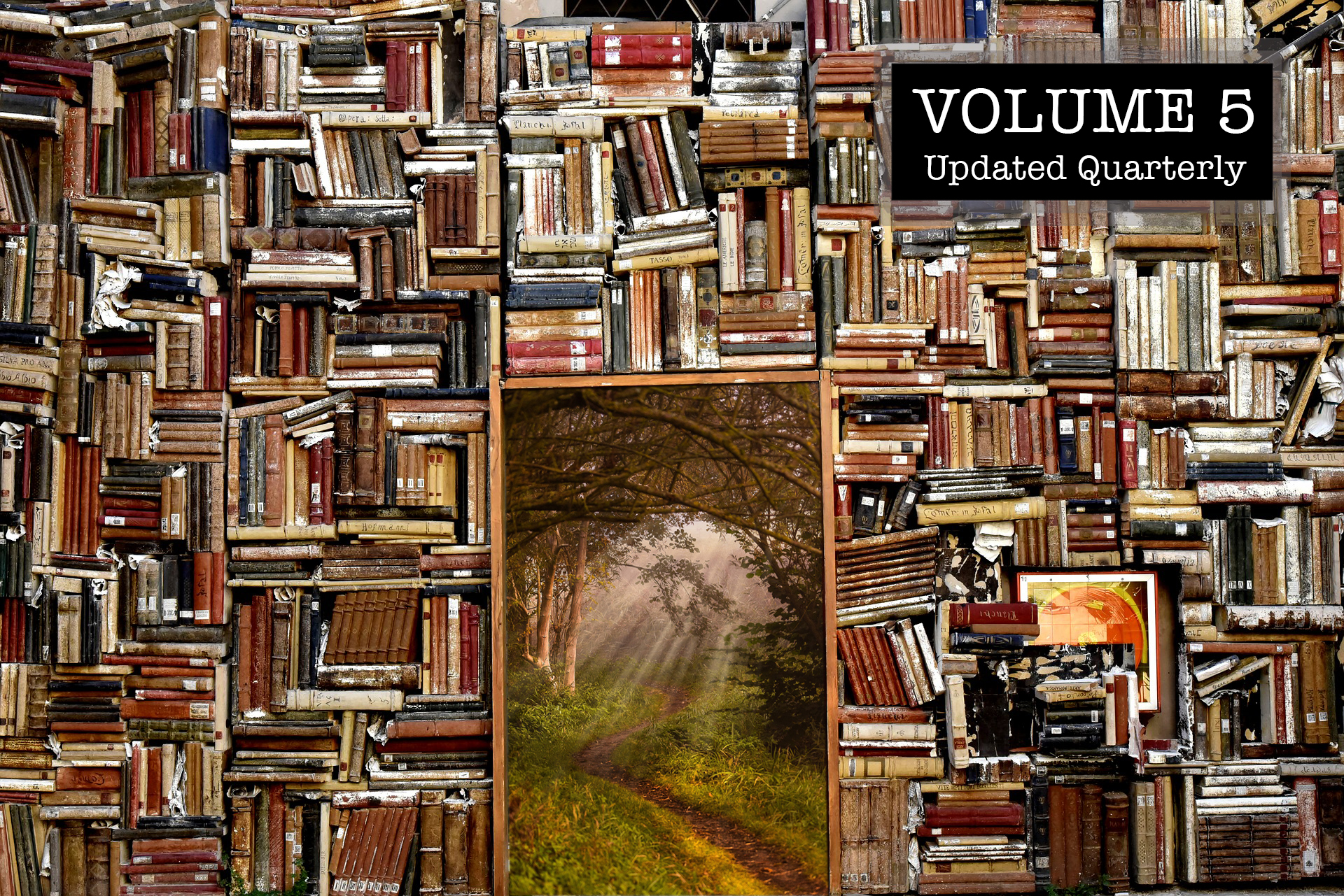 A Library for Redpilling and Survival: Volume 5
