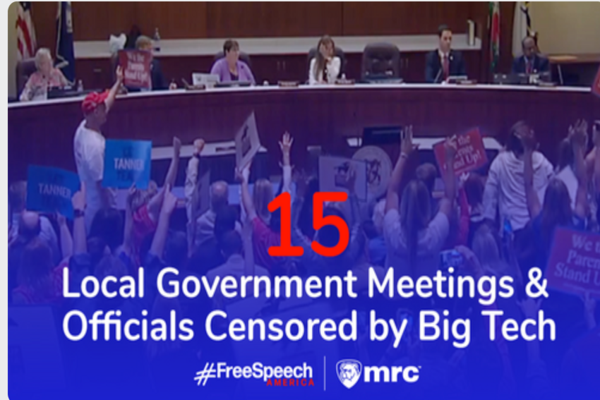 15 Times Big Tech Censored Local Government Meetings, Officials Since March