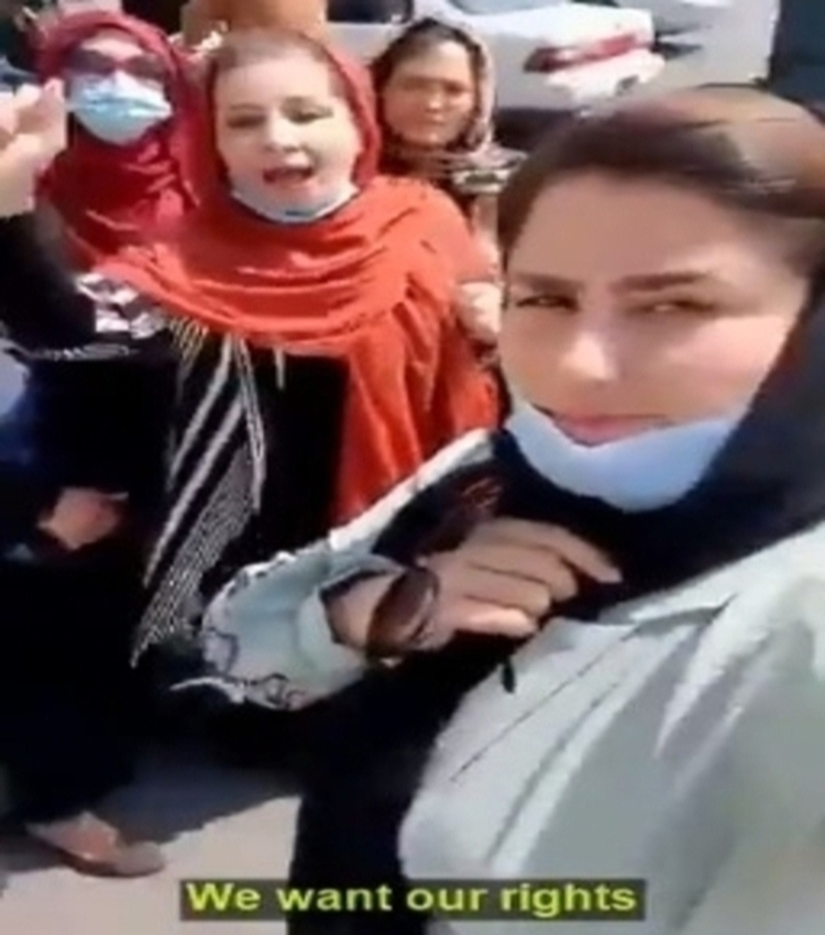 """Continuing to Try to Save Afghan Women """"the Only Thing We Can Do"""""""