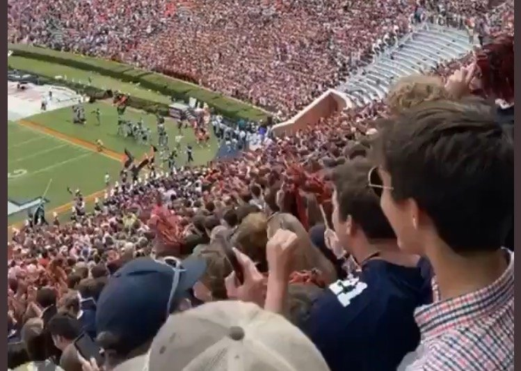 "College Football Fans Chant ""F*ck Joe Biden!"" In Between Plays on 9/11 (VIDEO)"