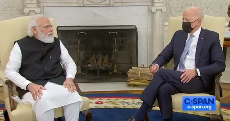 """Joe Biden Trashes American Reporters During Meeting with Indian Prime Minister, Says """"Not to Answer Questions"""" (VIDEO)"""