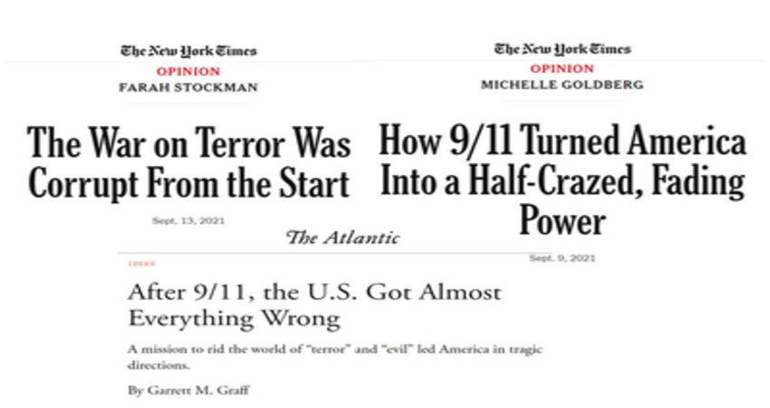Media's 9/11Coverage Shifted from a Critical Look at al-Qaida  Attacking America