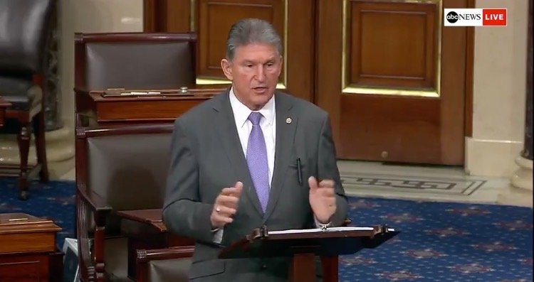 Key Part of Biden's Climate Agenda – to Get Rid of Coal and Gas-Powered Plants – Likely to be Cut From Spending Bill Because of Manchin Opposition