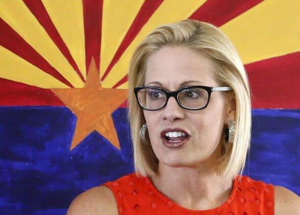 Arizona Democrat Senator Kyrsten Sinema Allegedly Not Returning Joe Biden's Phone Calls