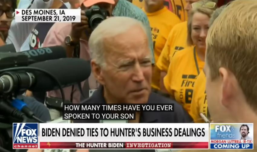 New Hunter Biden revelation undermines president's comments: Turley- PRESIDENT BIDEN CAUGHT LYING