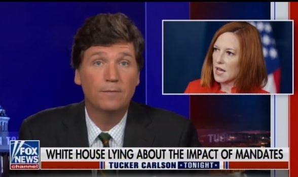 """Lying, Lying Lying"" – Tucker Carlson Shreds Psaki, Biden and Southwest Air CEO over Their Vaccine Mandate Lies (VIDEO)"